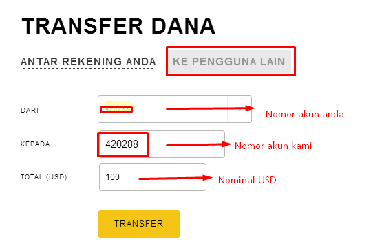 withdraw lokal exness